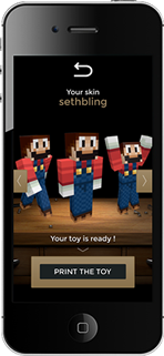 Minetoys iPhone app